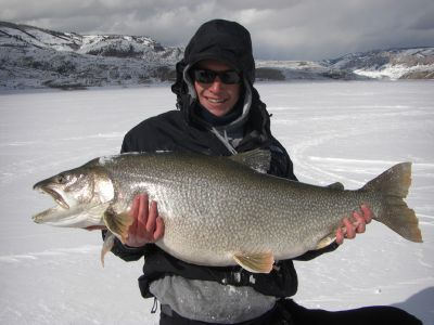 Ice Fishing Colorado For Trophy Lake Trout
