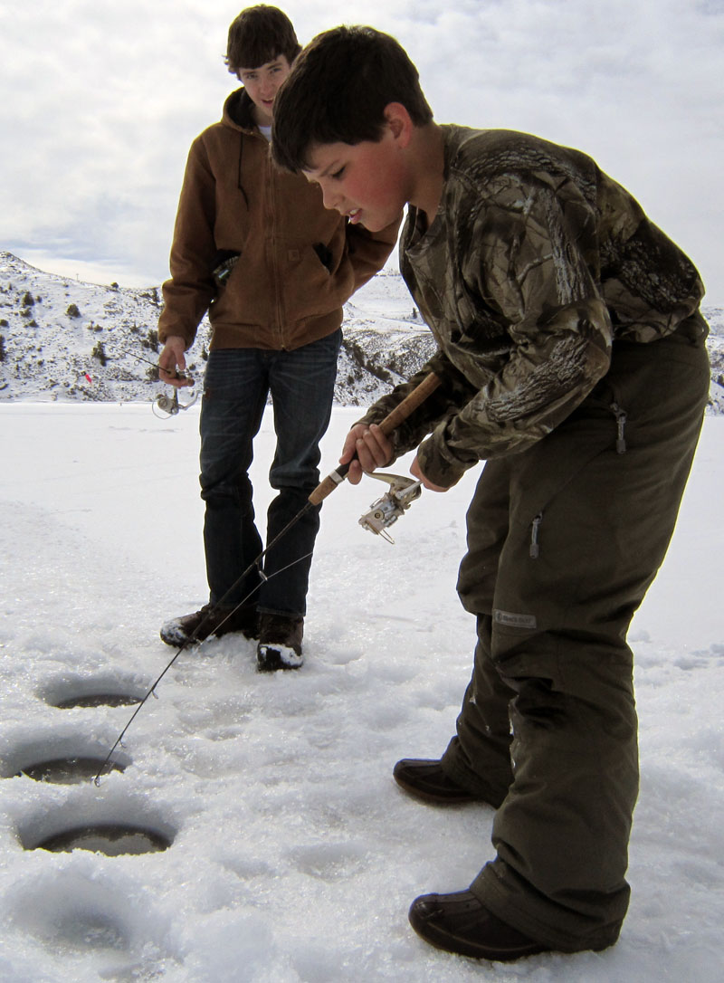 Blue Mesa Reservoir Ice Fishing