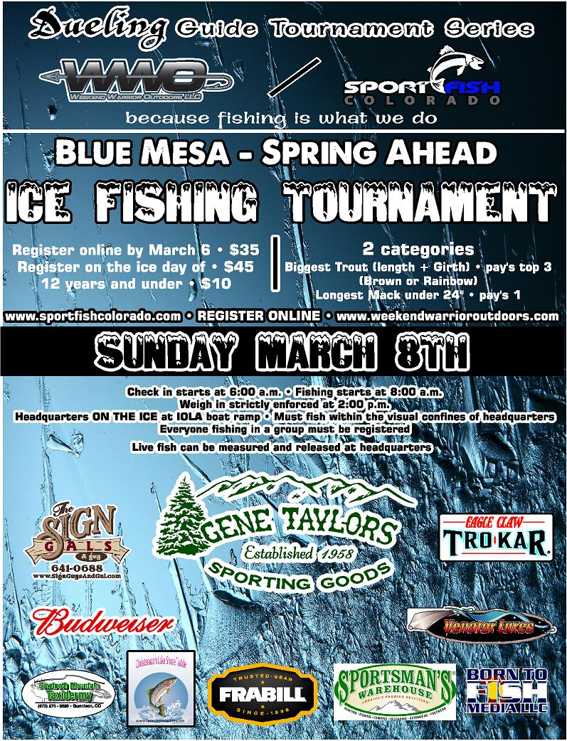 Blue Mesa Ice Fishing Tournament 2015
