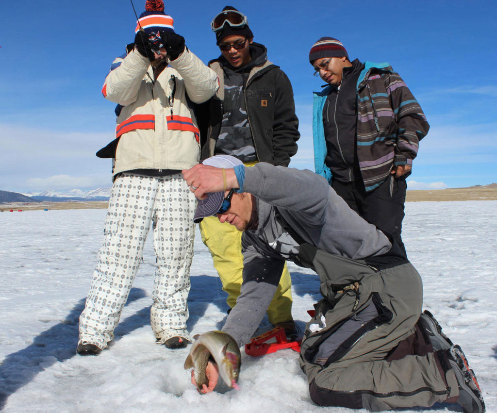 Book a Colorado Ice Fishing Trip