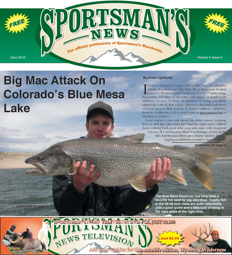 Ice Fishing Colorado Sportfish colorado news.
