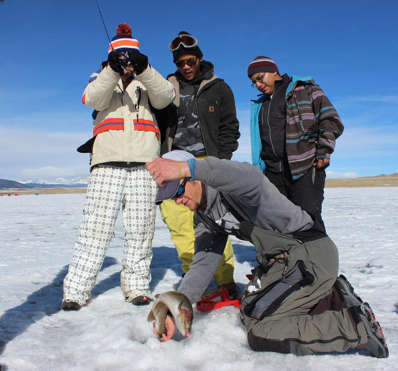 Colorado Ice Fishing Action!