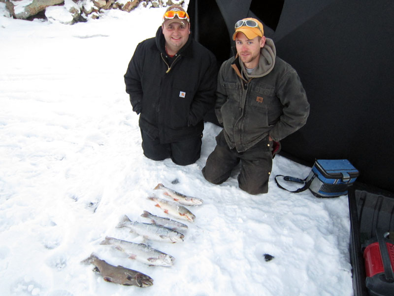 11 mile ice fishing