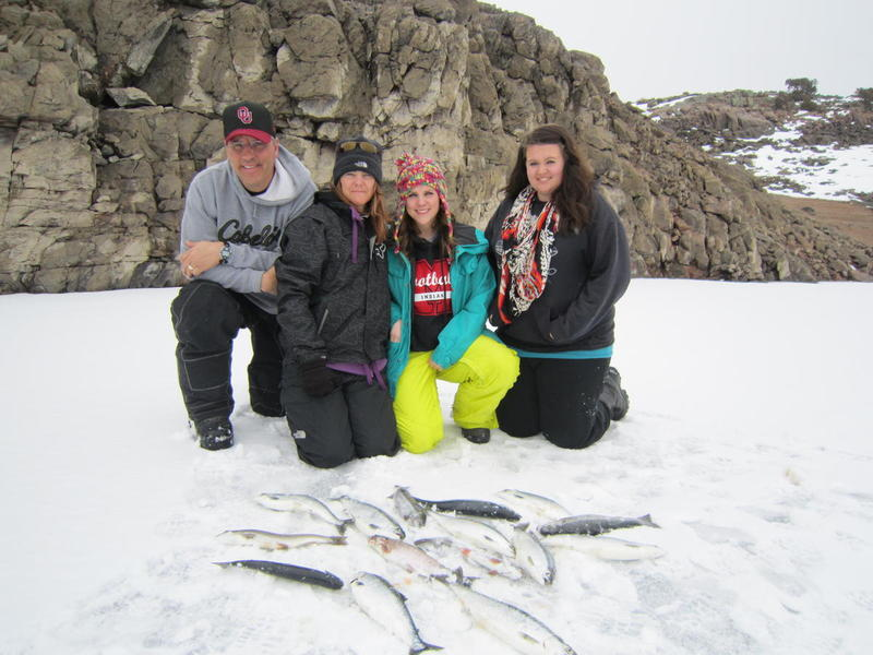 Blue Mesa Ice Fishing Trips