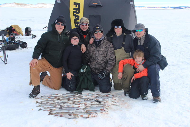 Antero ice fishing report 2015