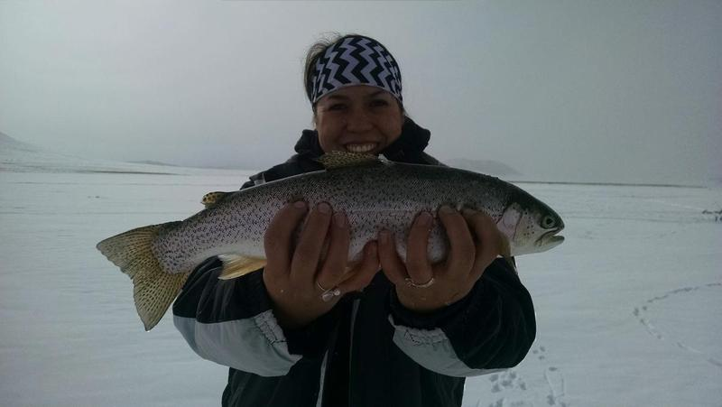 antero ice fishing report