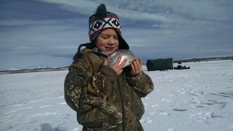 2015 Antero Ice Fishing Report
