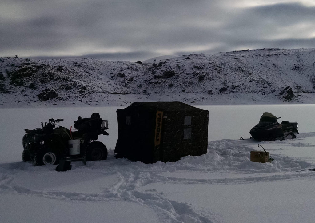 Colorado ice fishing rental equipment