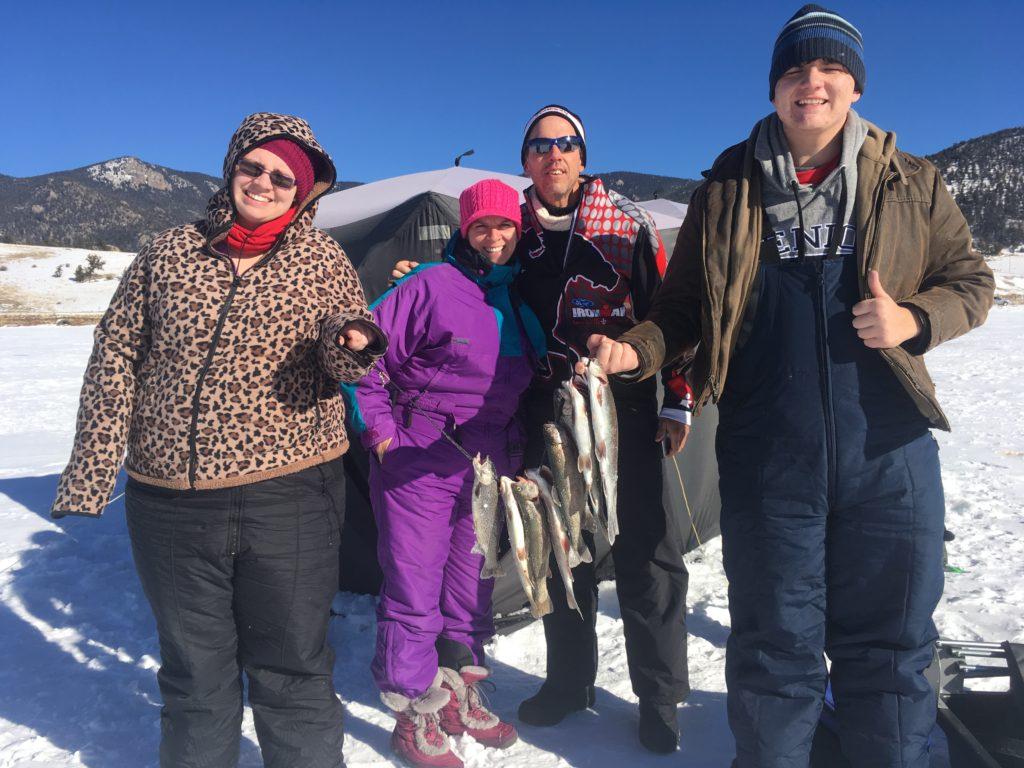 Fairplay colorado ice fishing