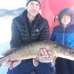 tarryall northern pike through the ice