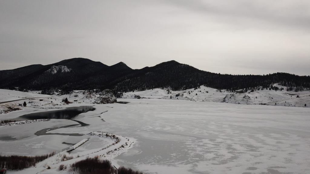 Tarryall Reservoir Ice Fishing