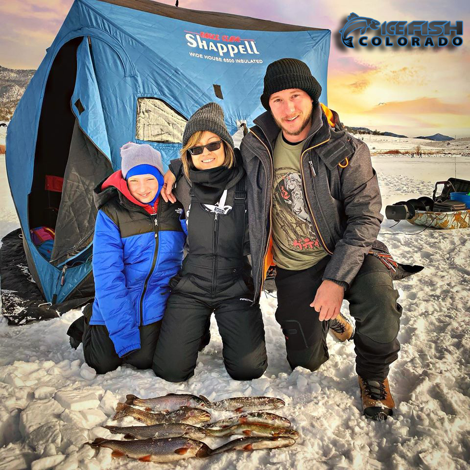 Tarryall ice fishing