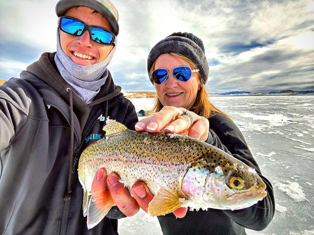Antero Ice fishing guides