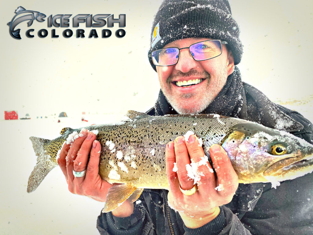 Antero cutbow ice fishing 2019