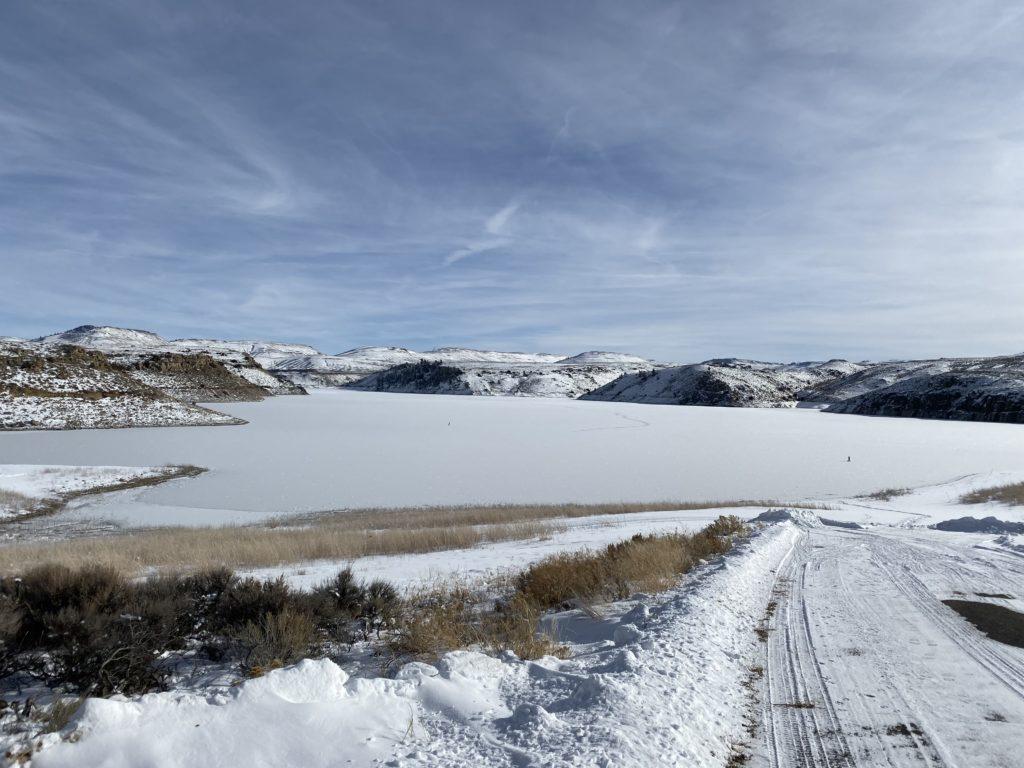 BLue Mesa ice fishing report 2019