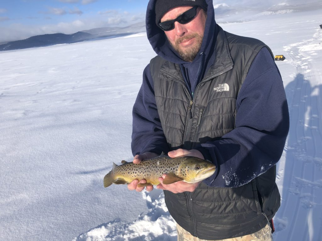 2020 Antero Ice Fishing Report