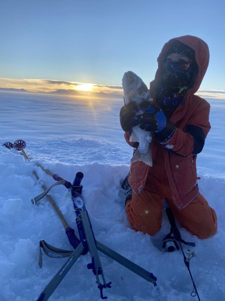 Colorado ice fishing